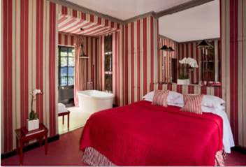 Striped Red Hotel, London