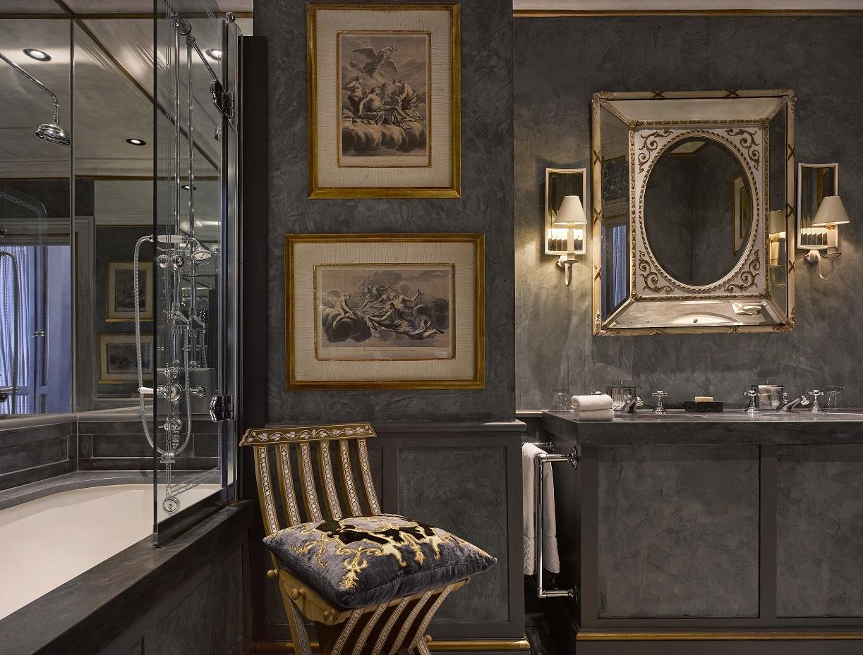Venetian Bathroom -Blakes Boutique Hotel, London