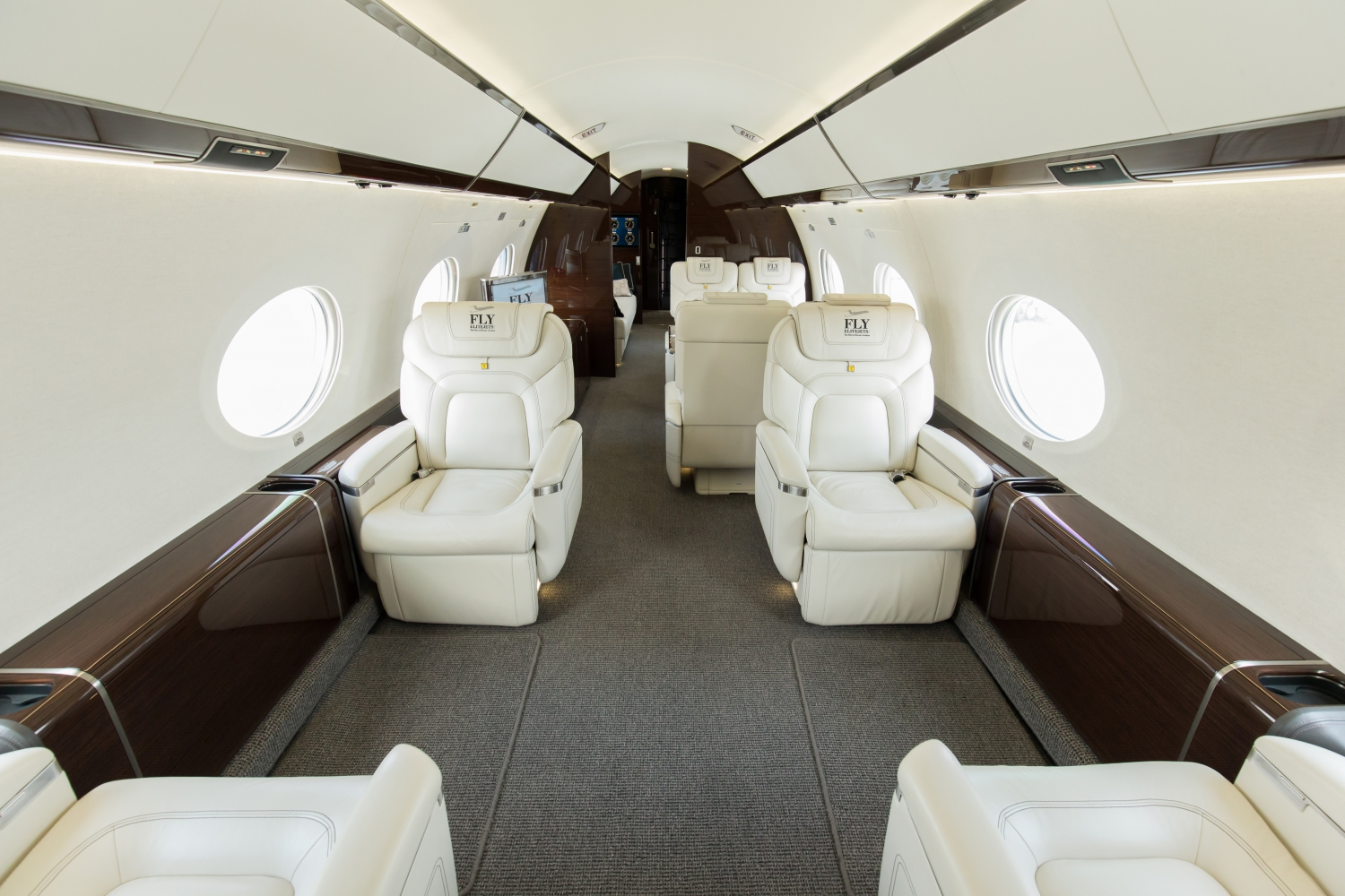 G650 Cabin Fly Elite Jets