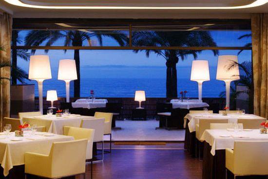 Beach view restaurant
