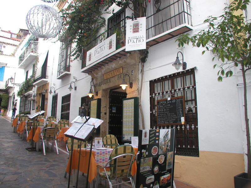 patio restaurante