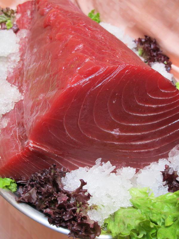 Tuna locally caught