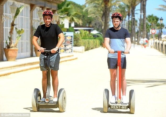 TOWIE Segway Tour