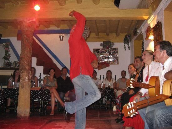 Flamenco dancing in Marbella