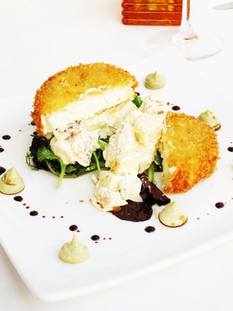Panko Coated Goat's Cheese