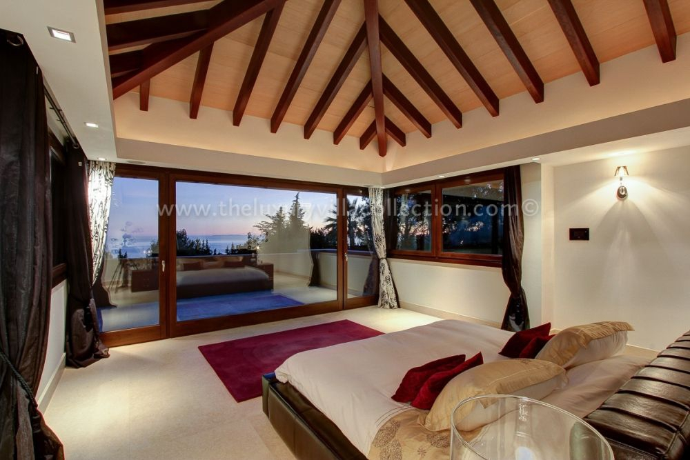 Master Suite with Sea Views