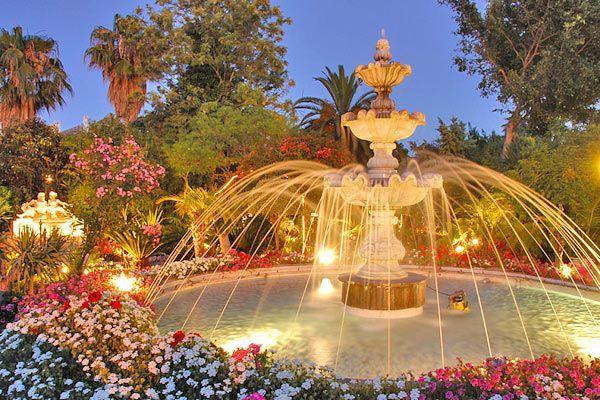 Stunning fountains